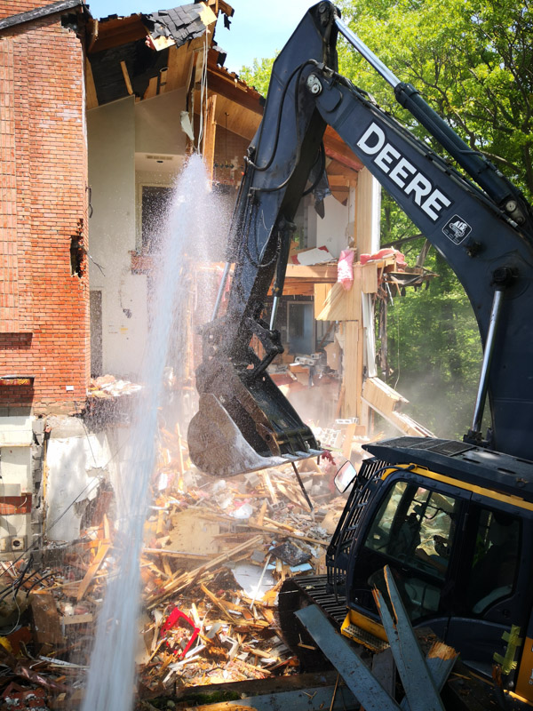 Residential Demolition Project - Stevensville, Michigan