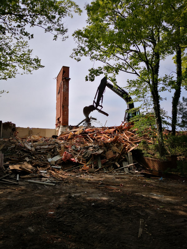 Lakeshore Residential Demolition Project