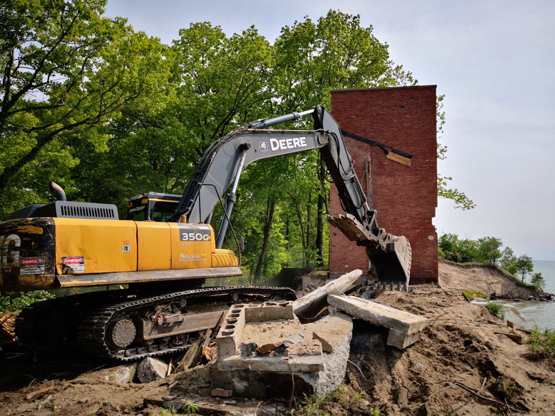 West Michigan Lakeshore Residential Demolition Project